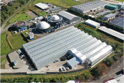 農場空撮イメージ