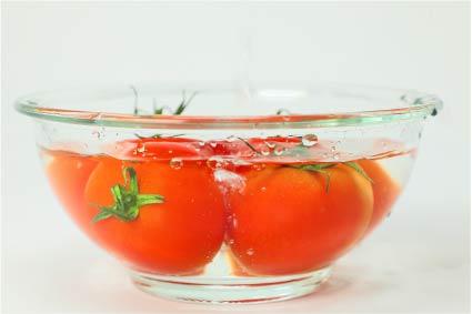 トマト盛り付けイメージ